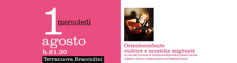 Orientoccidente culture e musiche migranti con Lucilla Galeazzi