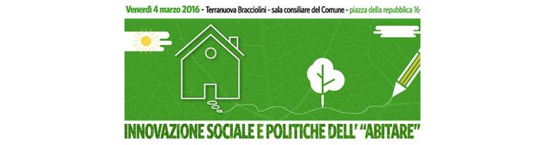 Innovazione sociale e politiche dell'abitare con ANCI Toscana