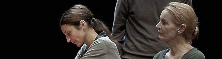 """""""Ce ne andiamo per non darvi altre preoccupazioni"""": Deflorian e Taglierini in scena all'auditorium Le Fornaci"""