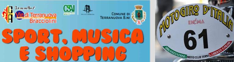 """""""Sport, Musica e Shopping"""" accoglie il passaggio del Motogiro d'Italia 2016"""