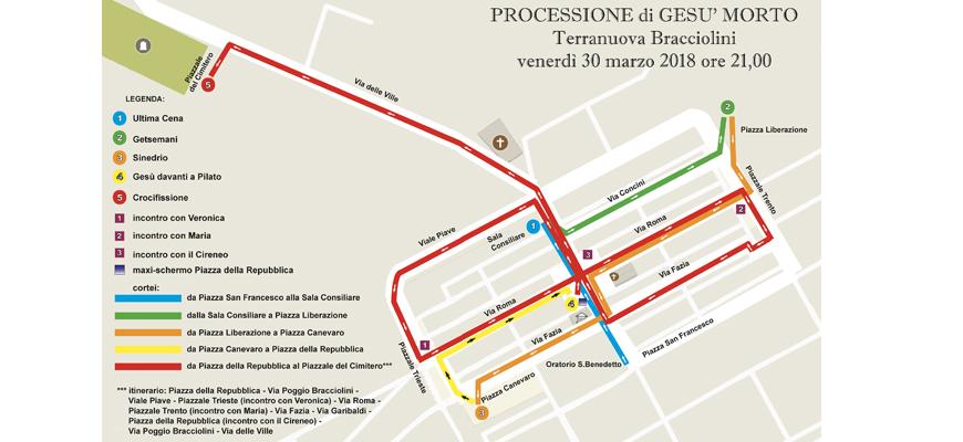 mappa_processione_gesù_morto
